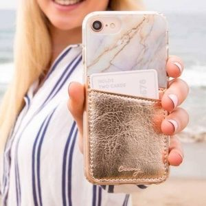 3/$24 | CASERY Rose Gold Phone Pocket